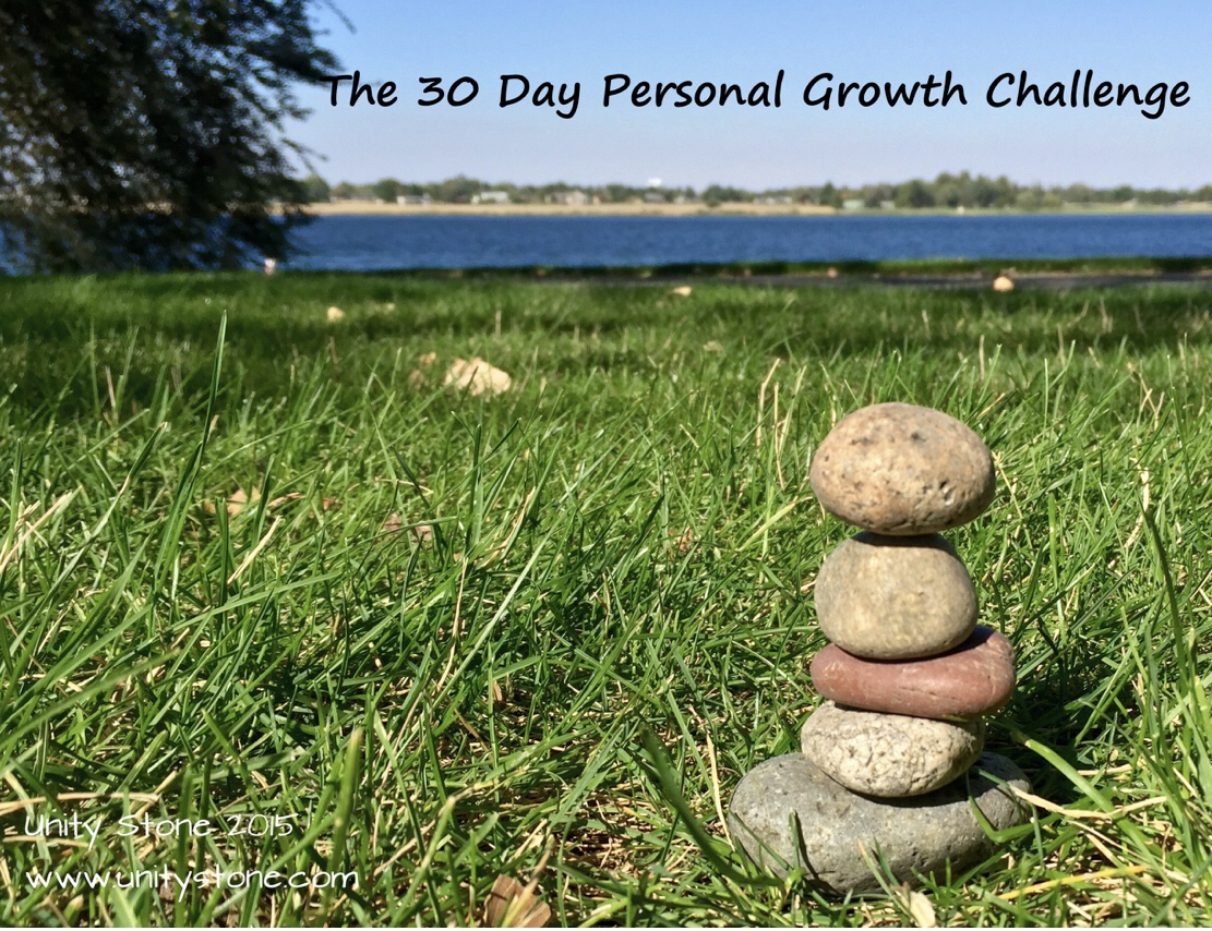 The 30 Day Personal Growth Challenge - September 2015